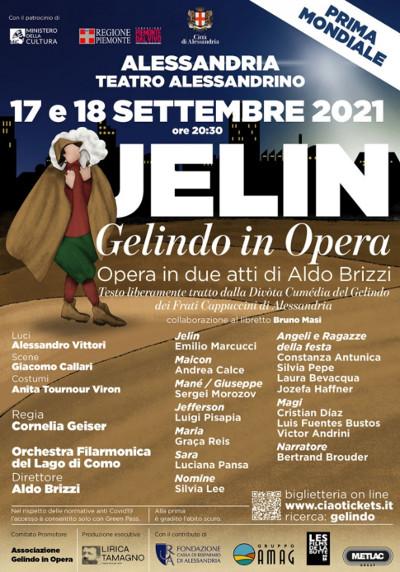 Manifesto Gelindo in Opera