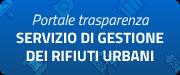 """Immagine banner """"Portale trasparenza - Servizio di gestione dei rifiuti urbani"""""""