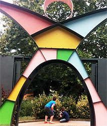 Immagine dell'ingresso al parco