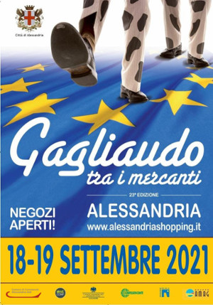 Locandina Gagliaudo tra i mercanti 2021