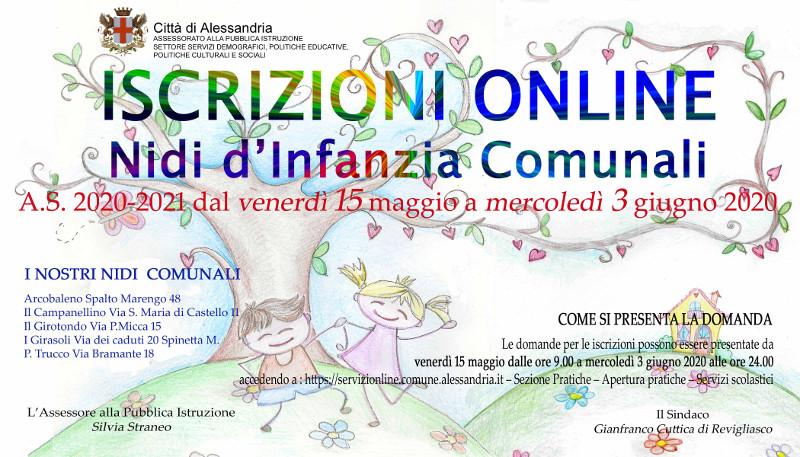 Immagine iscrizioni online Nidi d'infanzia Comunali