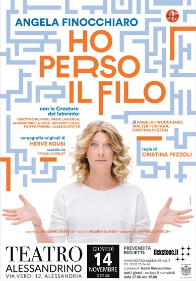 Angela Finocchiaro HO PERSO IL FILO