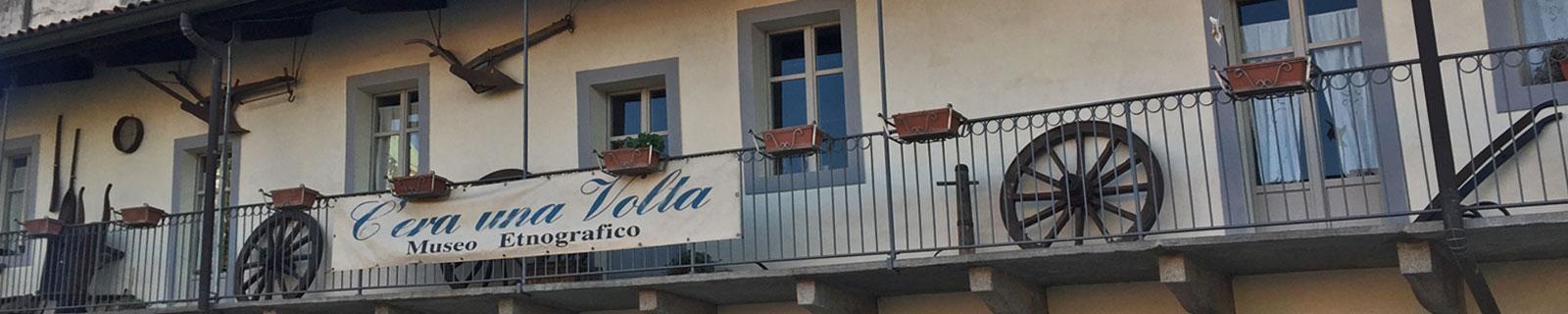 Immagine di testata: facciata museo Etnografico della Gambarina