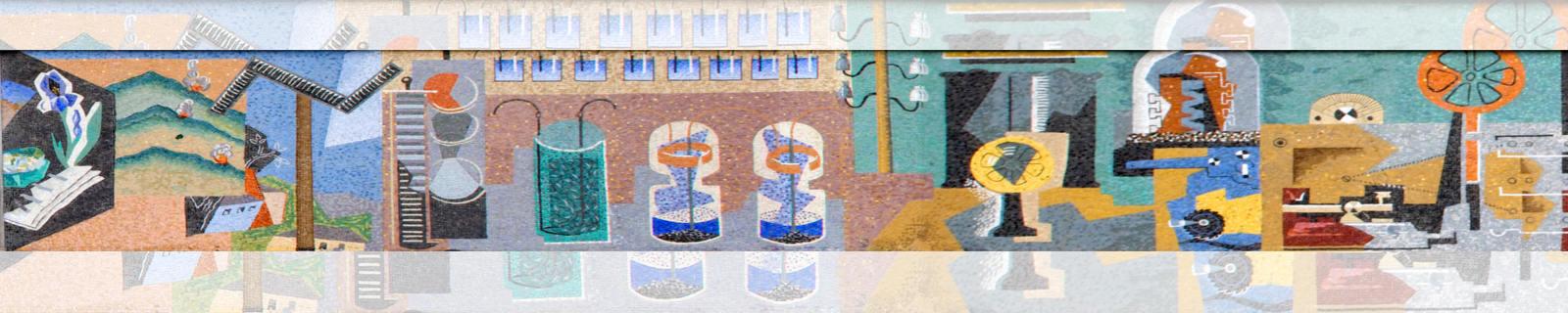 Immagine di testata: foto porzione mosaico di Gino Severini (Palazzo delle Poste)