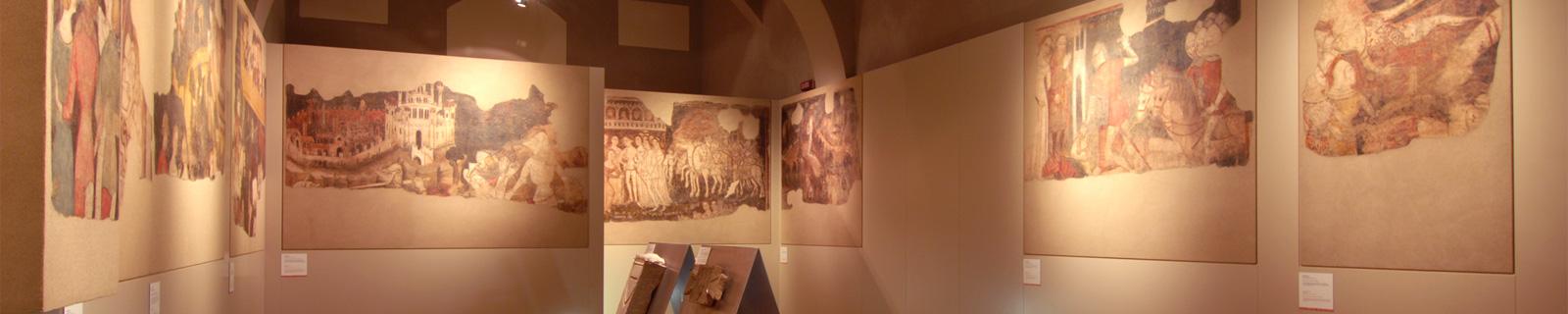 Immagine di testata: scorcio interno delle Sale d'Arte