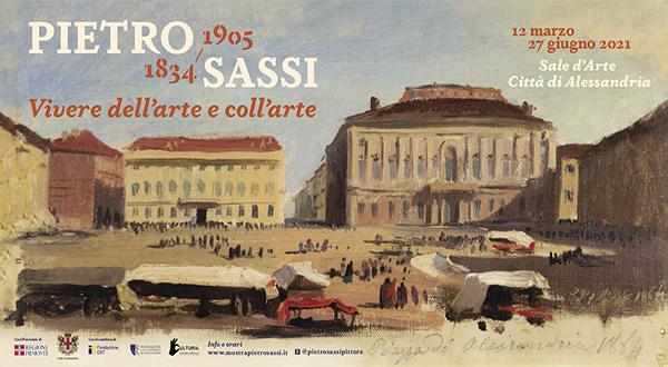 """Immagine mostra Pietro Sassi """"Vivere dell'arte e coll'arte"""""""