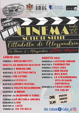 """Locandina """"Cinema sotto le stelle"""""""