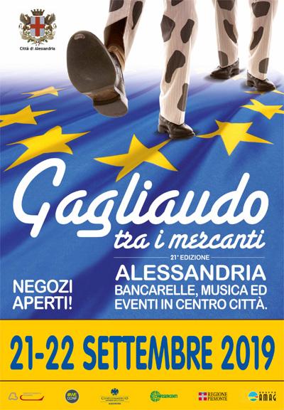 Locandina Gagliaudo tra i mercanti 2019