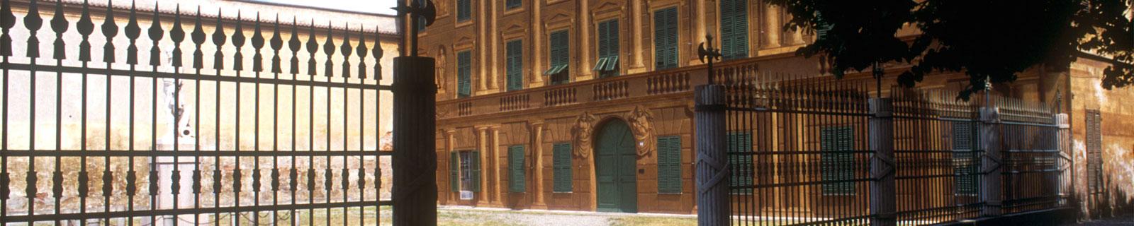 Immagine di testata: esterno Villa Delavo a Marengo