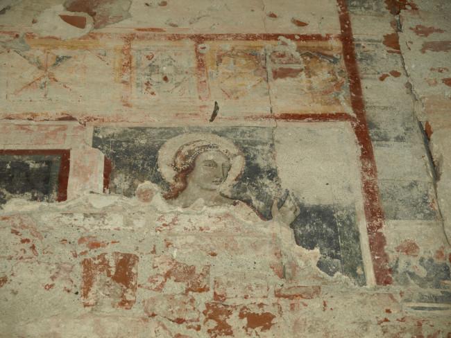 Foto particolare ex chiesa di San Francesco