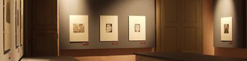 Scorcio sala del Gabinetto delle Stampe Antiche e Moderne