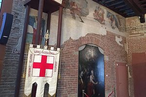 Foto interno Palatium Vetus (sala broletto)