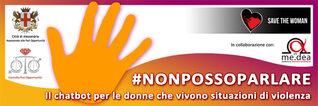 "Banner chatbot ""#NONPOSSOPARLARE"""