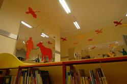 Biblioteca civica - Foto Sale rosse