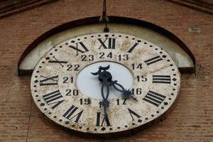 Foto particolare orologio