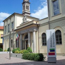 Foto ingresso esterno Biblioteca Civica di Alessandria