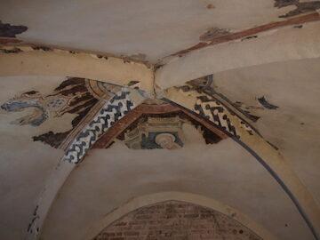Foto particolare volta ex chiesa di San Francesco