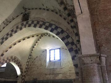 Foto interno ex chiesa di San Francesco